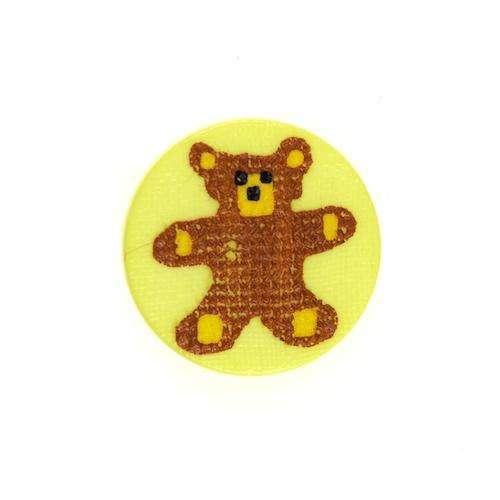 Kinderknöpfe kaufen Teddy KK-9 gelb
