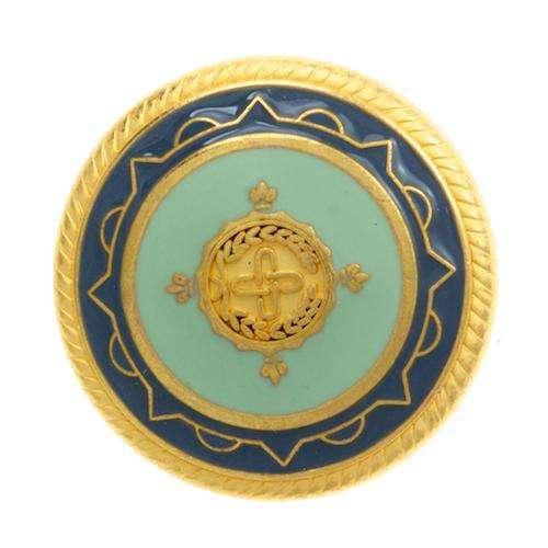 Ösen Knöpfe mit Wappen MK-309g tue MK-309g tue