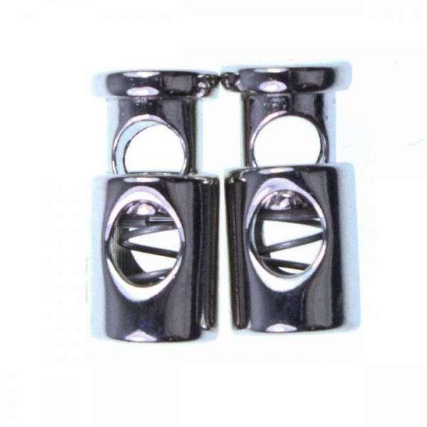 Kordelstopper silber metall KOST-5s