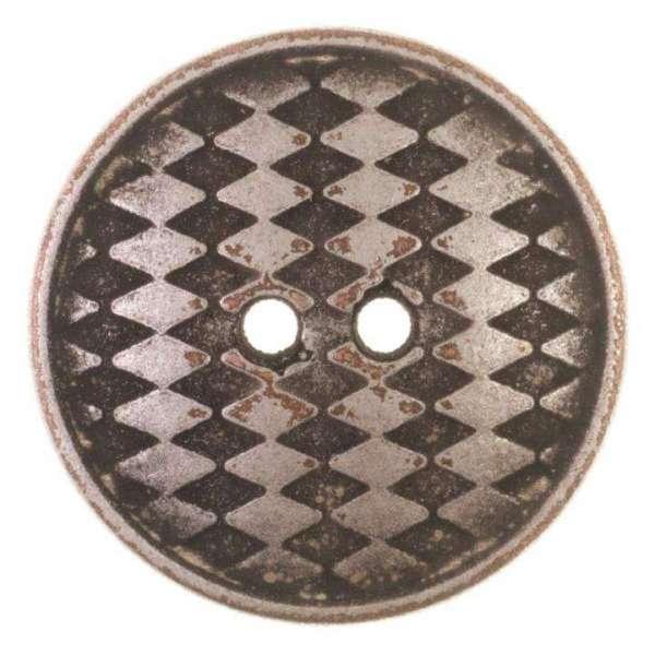 Knöpfe silber schwarz KSi 6