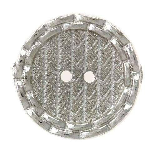 Knöpfe mit Musterung silber MK-110s