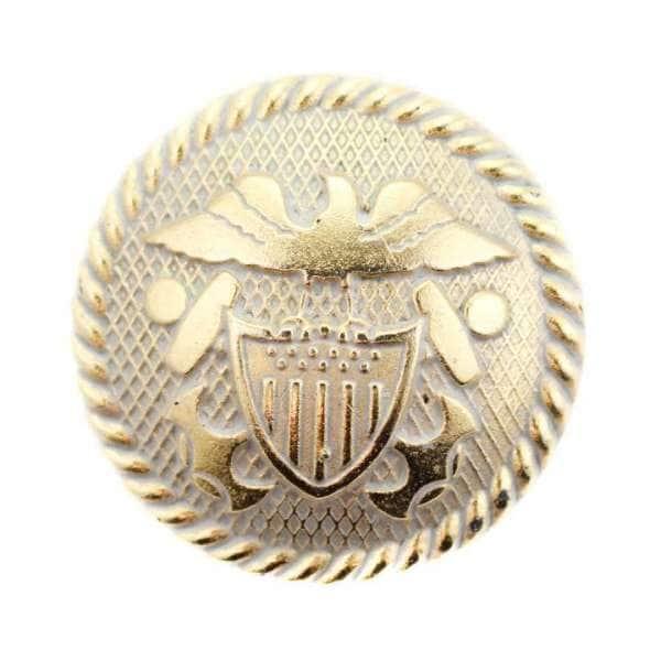 Ösen Knöpfe mit Wappen KGO-53g-grau