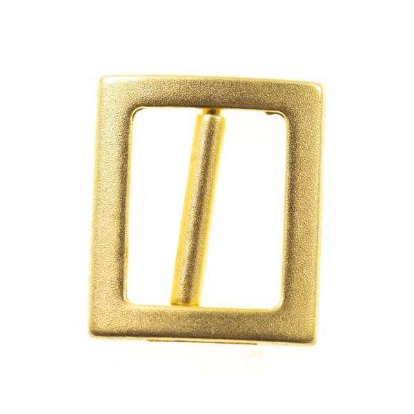 Schiebeschnalle Gürtelschnalle sm-39-A-gold-matt