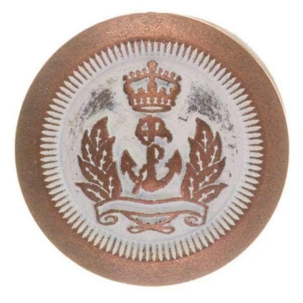 Knopf mit Wappen
