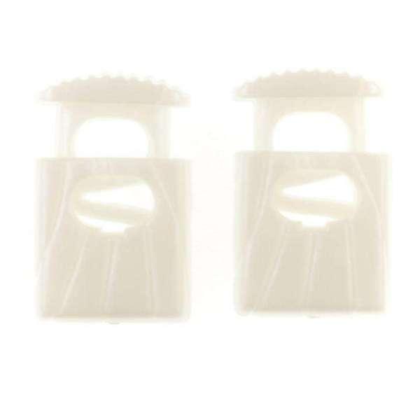 Kordelstopper mit feinem Muster KOST-42w