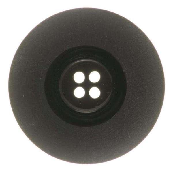 Mantelknöpfe kaufen Edler Knopf KM-38 schwarz