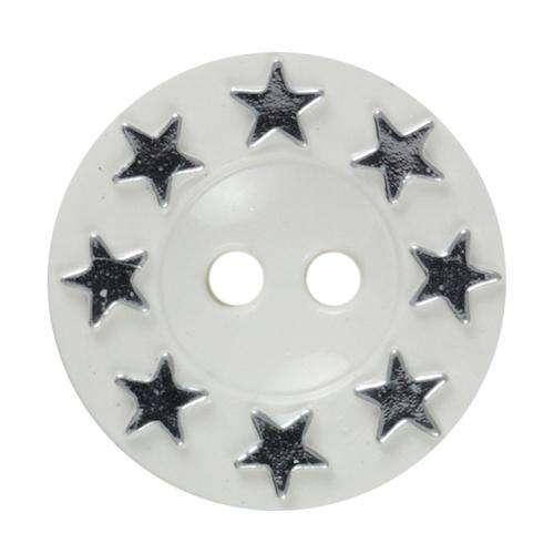 Knöpfe mit Sternen KW-18