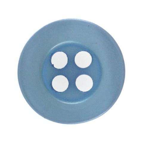 Hemdknöpfe h blau Hemd 1 hblau