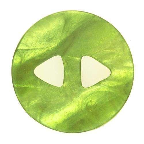 Knöpfe mit unebener Oberfläche grün KGR-135