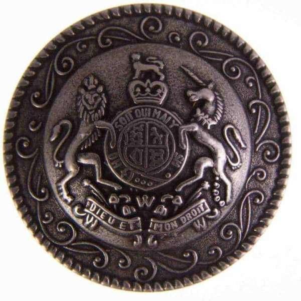 Knöpfe mit Wappen