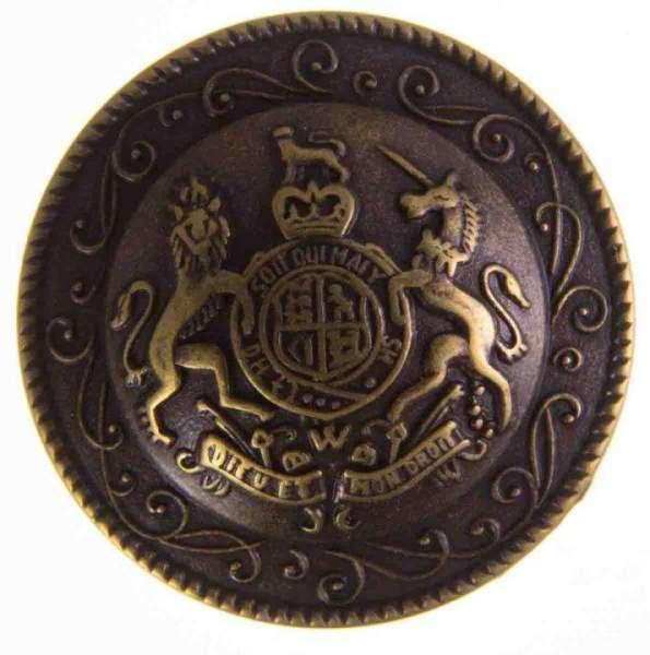 Ösen Knöpfe mit Wappen MK-507ag