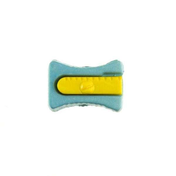 Kinderknöpfe kaufen Bleistiftspitzer-KK-152-blau-2