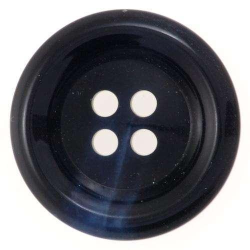 Knöpfe mit leichter Marmorierung blau KBL-66