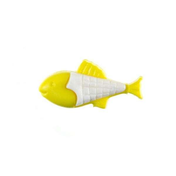 Kinderknöpfe kaufen Fisch-KK-151-gelb-1