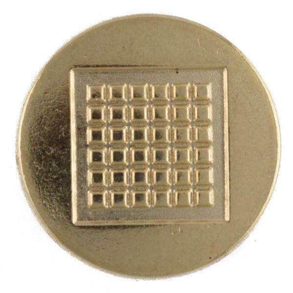 Knöpfe Metallknöpfe flach Schachbrett MK-232g