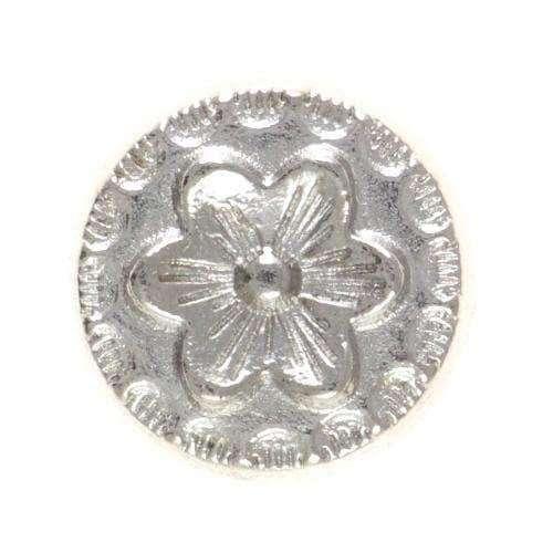 Zierniete mit Blumenmuster NT-9s