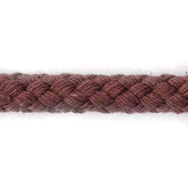 Kordeln Baumwolle rot braun col-10