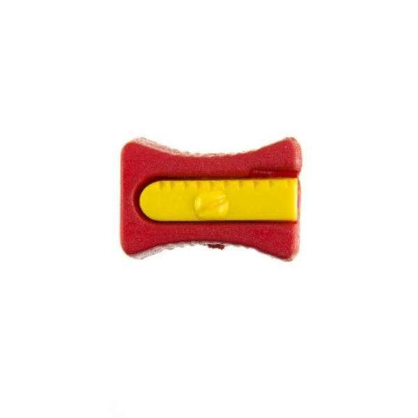 Kinderknöpfe kaufen Bleistiftspitzer-KK-152-rot-2