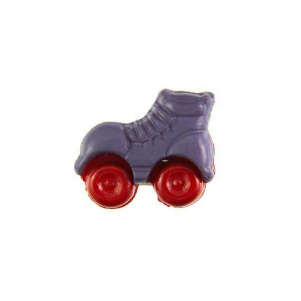 Kinderknöpfe kaufen Rollschuhe-KK-150-lila-3