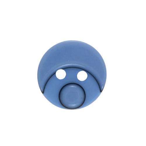 Kinderknöpfe kaufen Smiley KK-110h.blau