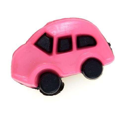 Kinderknöpfe kaufen Auto KK-52rosa