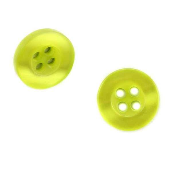 Knöpfe Hemdknöpfe Hemd 1 gelb-grün