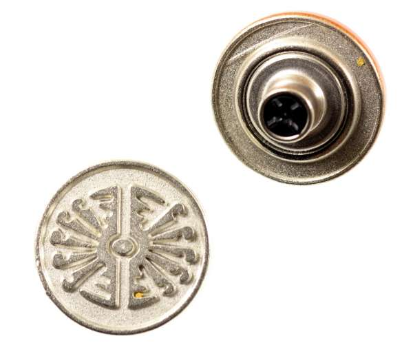Jeansknöpfe Ethno Muster NJ-57-nickel-matt