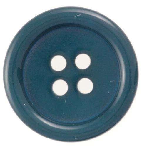 Knöpfe petrol grün mit Rand KBL-180 petrol