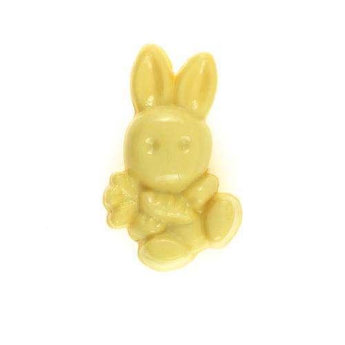 Kinderknöpfe kaufen Hase KK-gelb