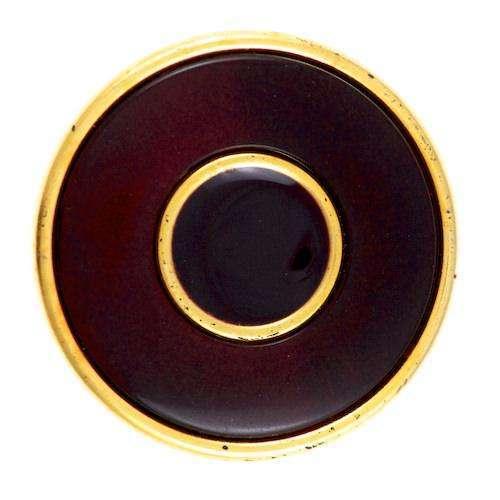 Knöpfe d. braun gold KGO-14 d.braun
