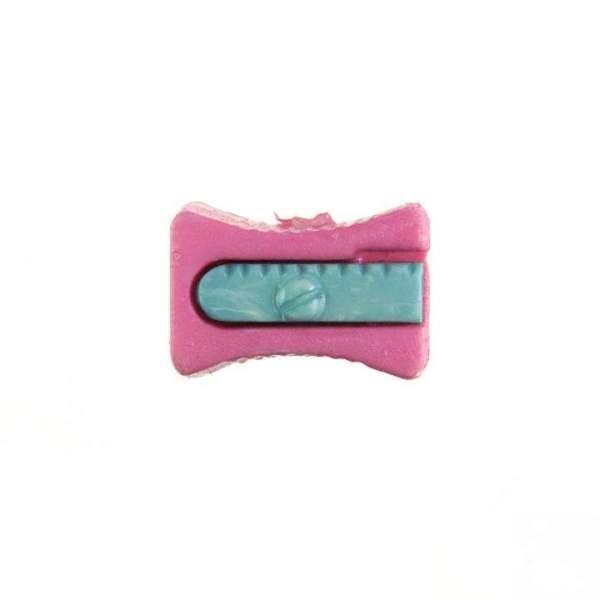 Kinderknöpfe kaufen Bleistiftspitzer-KK-152-rosa-3