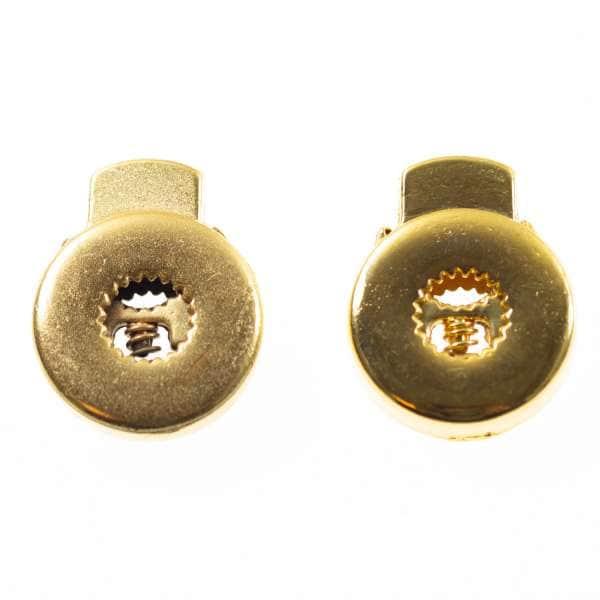 Kordelstopper gold metall kost-36g