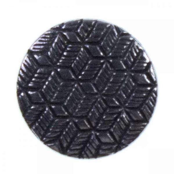 Metallknöpfe mit Waffelmuster altsilber MK-308as