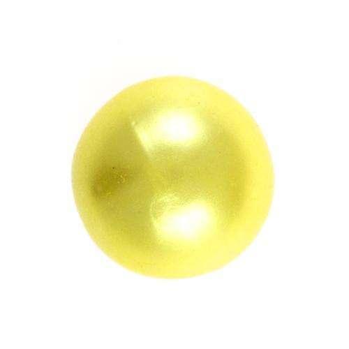 Perl Knöpfe gelb