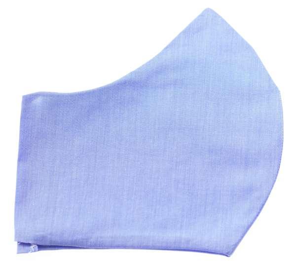 Herren Mund - Nasen Masken hell-blau