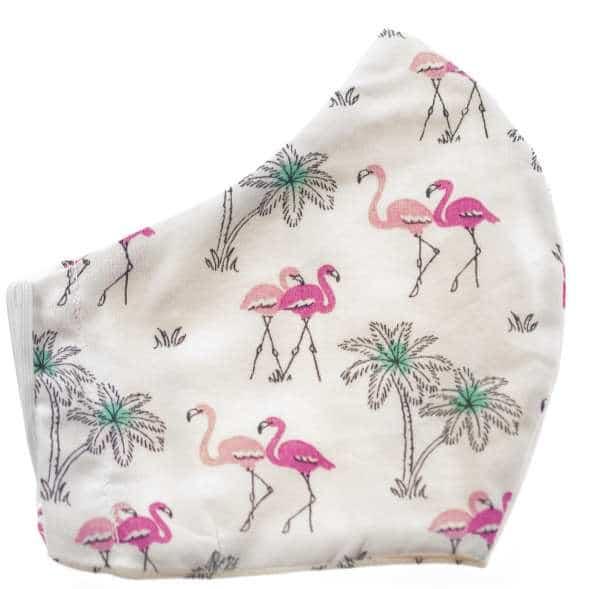 Damen Mund - Nasen Masken Flamingo