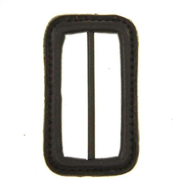 Leder Gürtelschnalle S-LE-10-braun-grau