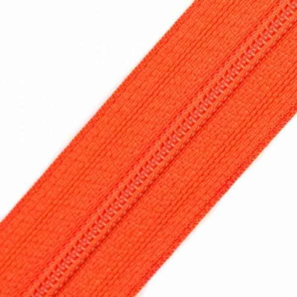 Reißverschluss 3mm Spirale orange