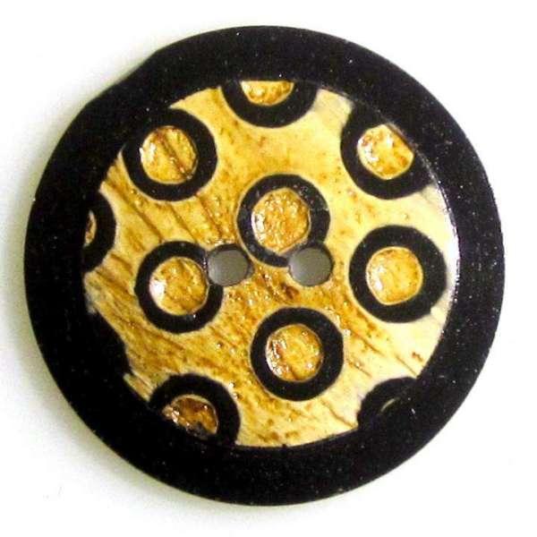 Hornknöpfe beige HK-411