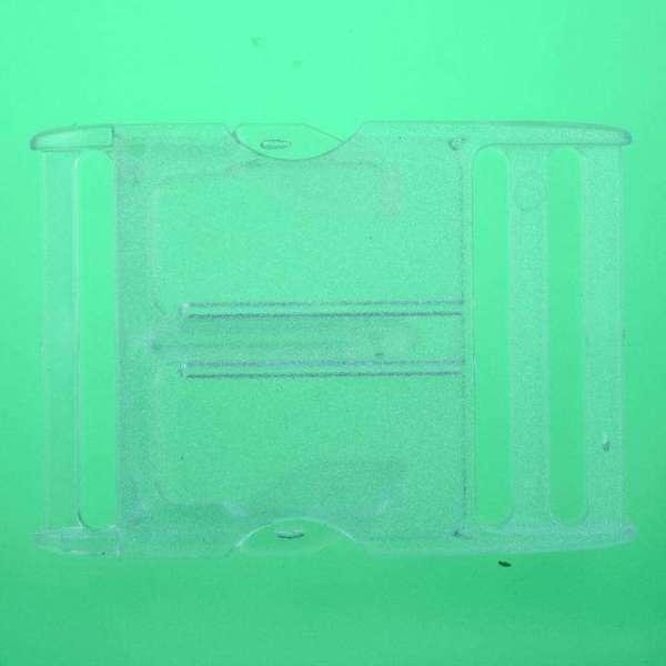Patentschnalle Steckschliesse PS-5 transpa.