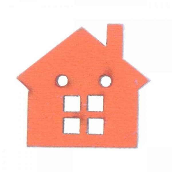 Holzknöpfe kaufen Haus HK-SO 1 2