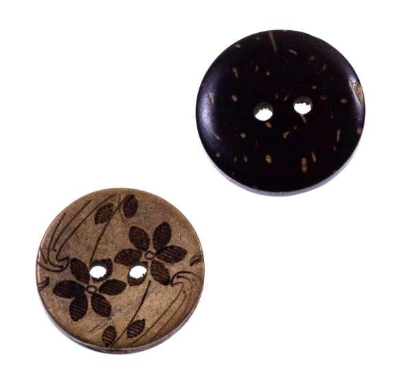 Knöpfe aus Kokos hk-81
