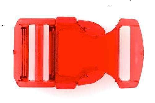 Patentschnalle Steckschliesse PS-29 rot