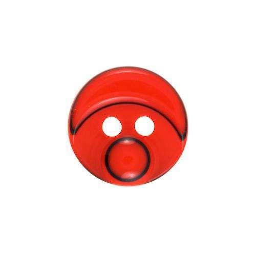 Kinderknöpfe kaufen Smiley KK-110h.rot