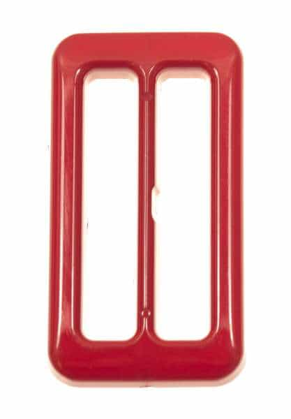 Gürtelschnalle rechteckig s-45-rot