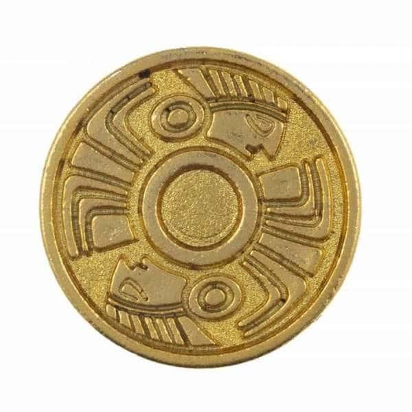 Druckknöpfe Ethno-Muster nk-56-gold