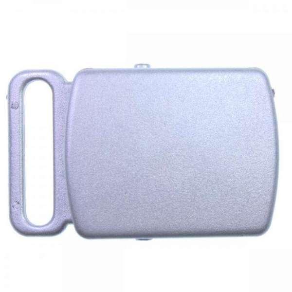 Koppelschnallen PS-8 silber grau