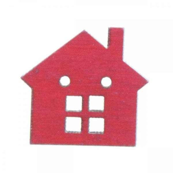 Holzknöpfe kaufen Haus HK-SO 1 5