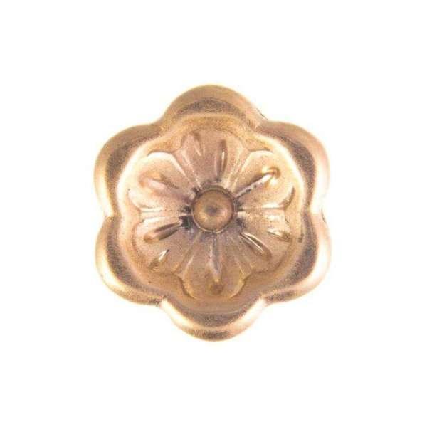 Knöpfe mit Blume gold BL-35g