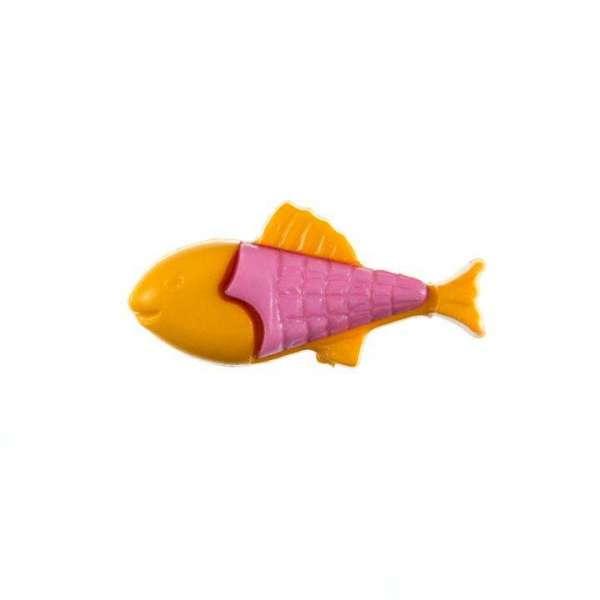 Kinderknöpfe kaufen Fisch-KK-151-orange-1
